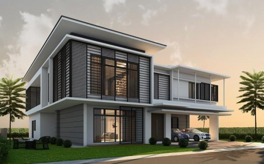 Noble Park Grand Pool Villas @ East Ledang
