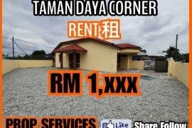 3 Bedroom House for rent in Johor