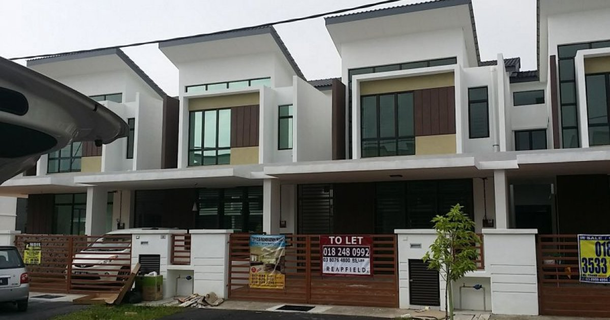 4 bed house for rent in kota warisan sepang rm1 550 for 6 bedroom homes for rent