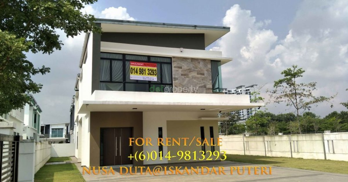 6 bed house for sale or rent in johor rm 4 000 000 8 000 2546698 dot property Master bedroom for rent in johor