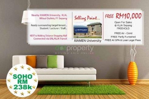 1 Bedroom Apartment for sale in Sepang, Selangor