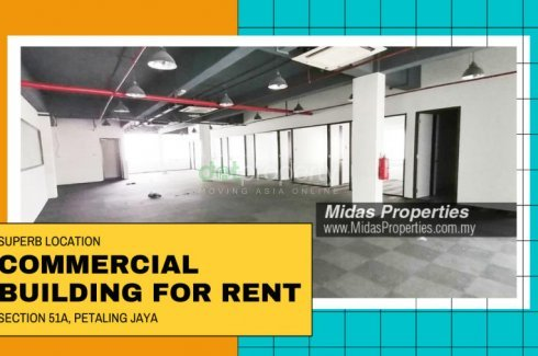 Commercial for rent in Petaling Jaya, Selangor